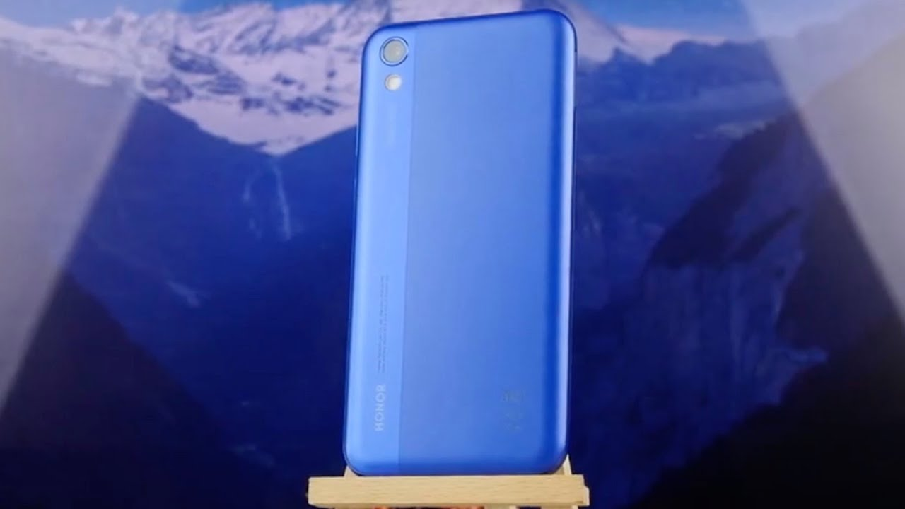 Honor 8S 2/32Gb Black video preview