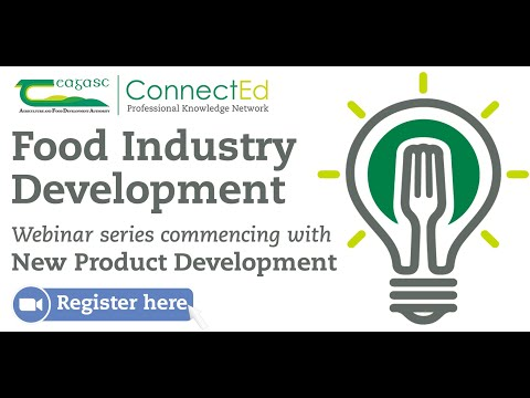 Food Development Webinar - Introduction to New Product ...