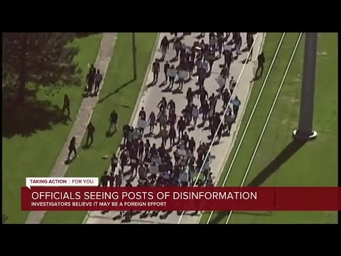 Officials see increase in posts of disinformation related to protests