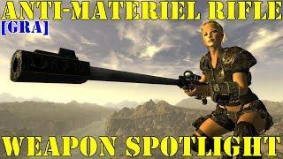 Fallout New Vegas: Weapon Spotlights: Anti-Materiel Rifle [GRA]