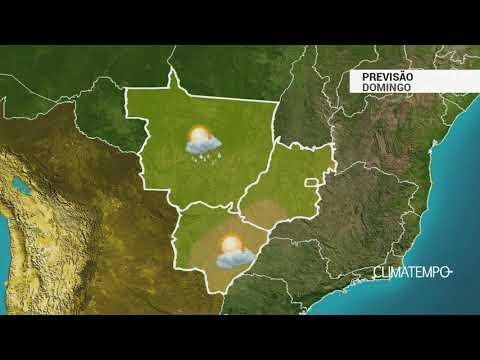 Previsão Centro-Oeste – Dia de sol e calor em MS