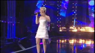 Soraya Arnelas - Live Your Dreams (Directo en Destino Eurovisión Semi 1) 28-01-11