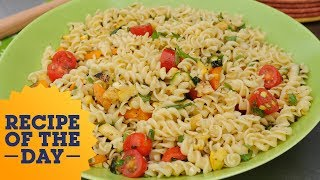 Recipe of the Day: Colorful Veggie Pasta Salad   Food Network