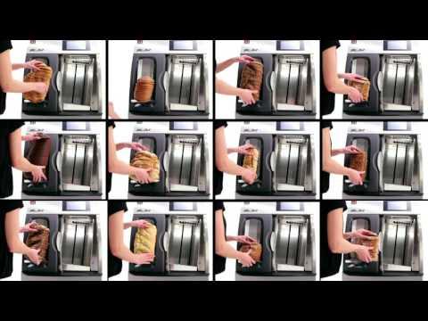 video 1, Trancheuse à lame circulaire Slim self