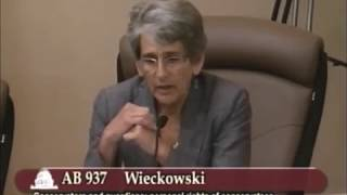 AB937 & Conservatees' Rights:  Senate Judiciary Committee 6/11/13
