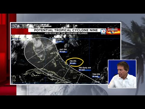 Bryan Norcross analyzes what could be Tropical Storm Isaias