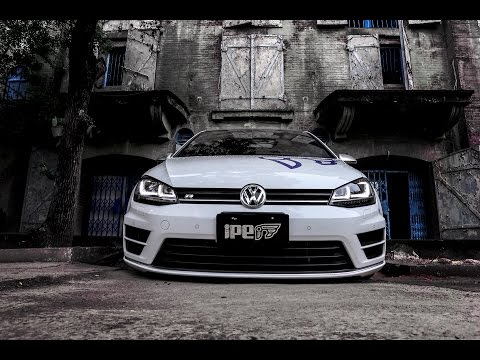 The iPE Exhaust for Volkswagen Golf R MK7