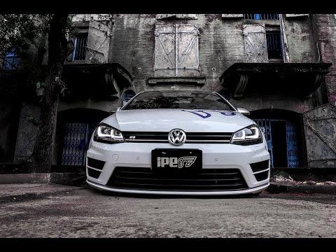 The iPE Exhaust for Volkswagen Golf R MK7