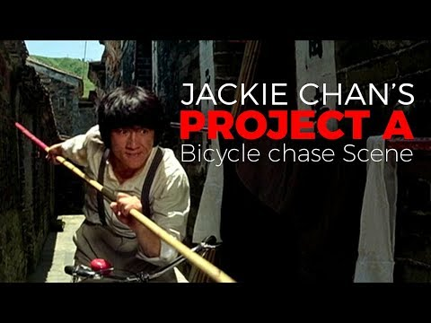 Jackie Chan's Project A Bicycle Chase Scene