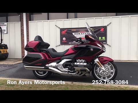2020 Honda Gold Wing Tour Automatic DCT in Greenville, North Carolina - Video 1