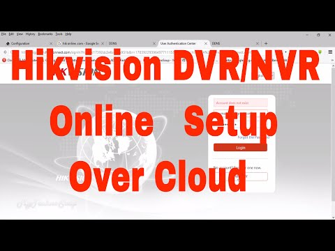 Hik Connect | How To Make Hikvision Device Online With DDNS