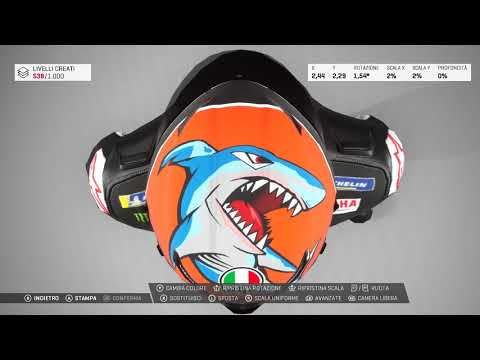 MotoGP™19 Helmet Livery Customization thumbnail