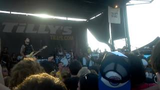 Well Be OK - Bayside, Warped Tour Tinley Park 2012