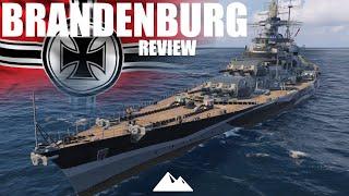BRANDENBURG, TIRPITZODIN für 12.800 Dublonen? - World of Warships | [Review] [Deutsch] [60fps]