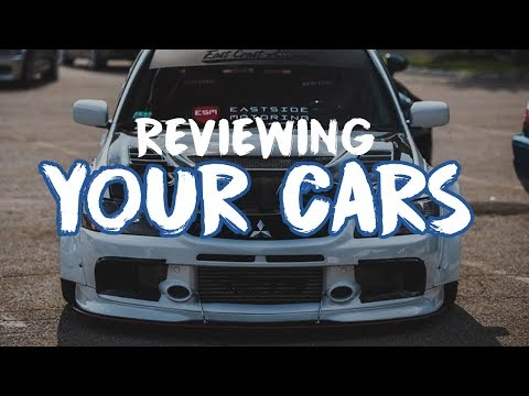 Reviewing YOUR Cars In Our Gallery! Ep. 2
