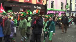 preview picture of video 'St. Patrick's Day Parade 2013, Dingle, County Kerry.'