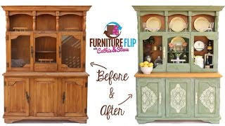 Furniture Flip! Transform A French Country Dining Hutch With Cathie & Steve