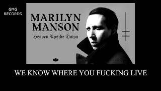 Marylin Manson - Heaven Upside Down Full Album HQ Wav Audio