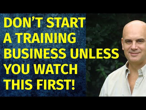 How to Start a Training Business | Including Free Training Business Plan Template
