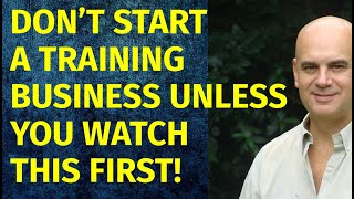 How to Start a Training Business   Including Free Training Business Plan Template