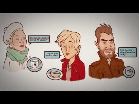 Behind the Screen - Coffee Drinkers