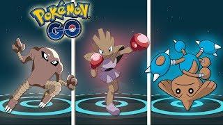 Hitmonlee  - (Pokémon) - ¡LAS MEJORES EVOLUCIONES de TYROGUE: HITMONLEE, HITMONCHAN y HITMONTOP en Pokémon GO! [Keibron]