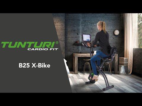 Tunturi Hometrainer Cardio Fit B25 X-Bike met Rugsteun