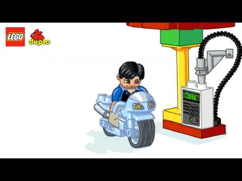 Vidéo LEGO Duplo 6171 : La station-service