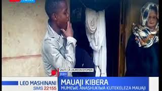 Mwanamke auwawa usiku katika maeneo ya Kibera