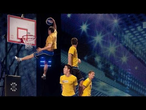 The Fantastic Basketball Acrobats!