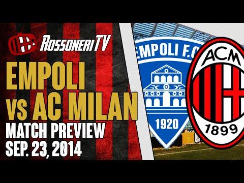 Empoli vs AC Milan   MATCH PREVIEW   Rossoneri TV