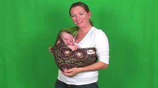 Baby Slings - How To Wear A Baby Sling With An Infant- Mod Mum Baby Sling