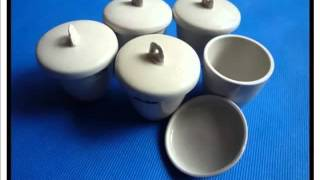 Picture Collection Of Rare & Beautiful Porcelain Crucible