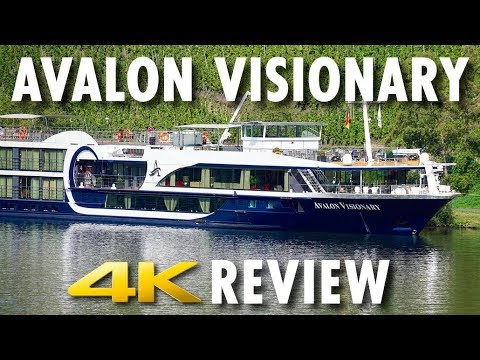 Avalon Visionary Tour & Review ~ Avalon Waterways ~ Cruise Ship Tour & Review [4K Ultra HD]