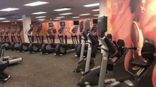 США фитнес клуб премиум класса LA Fitness Орландо Флорида 04.17 Спорт в Америке