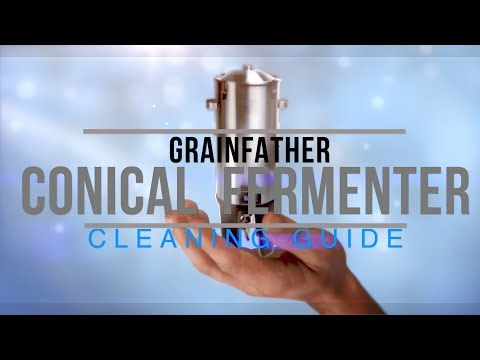Grainfather Conical Fermenter Cleaning Guide 4k HD