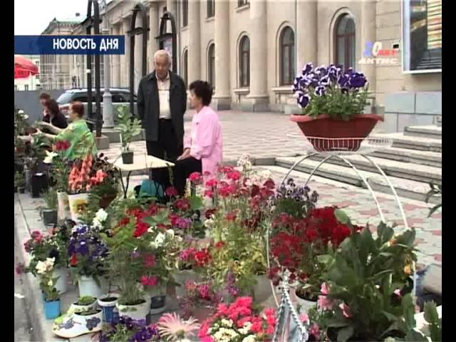 В Ангарске прошла ярмарка цветов