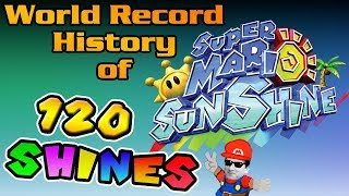 The World Record History of Super Mario Sunshine 100% (120 Shines)