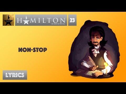 #23 Hamilton - Non-Stop [[VIDEO LYRICS]]