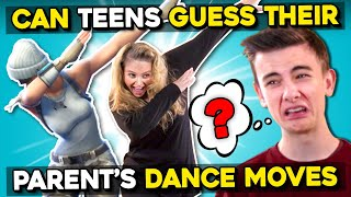 Parents Embarrass Their Kids While Recreating Popular Dance Moves #2