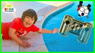 Ryan lost Combo Panda's Gaming Controller in the Swimming Pool.....