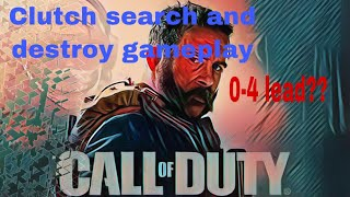 Clutch Search And Destroy Gameplay!!0-4 Comeback!!