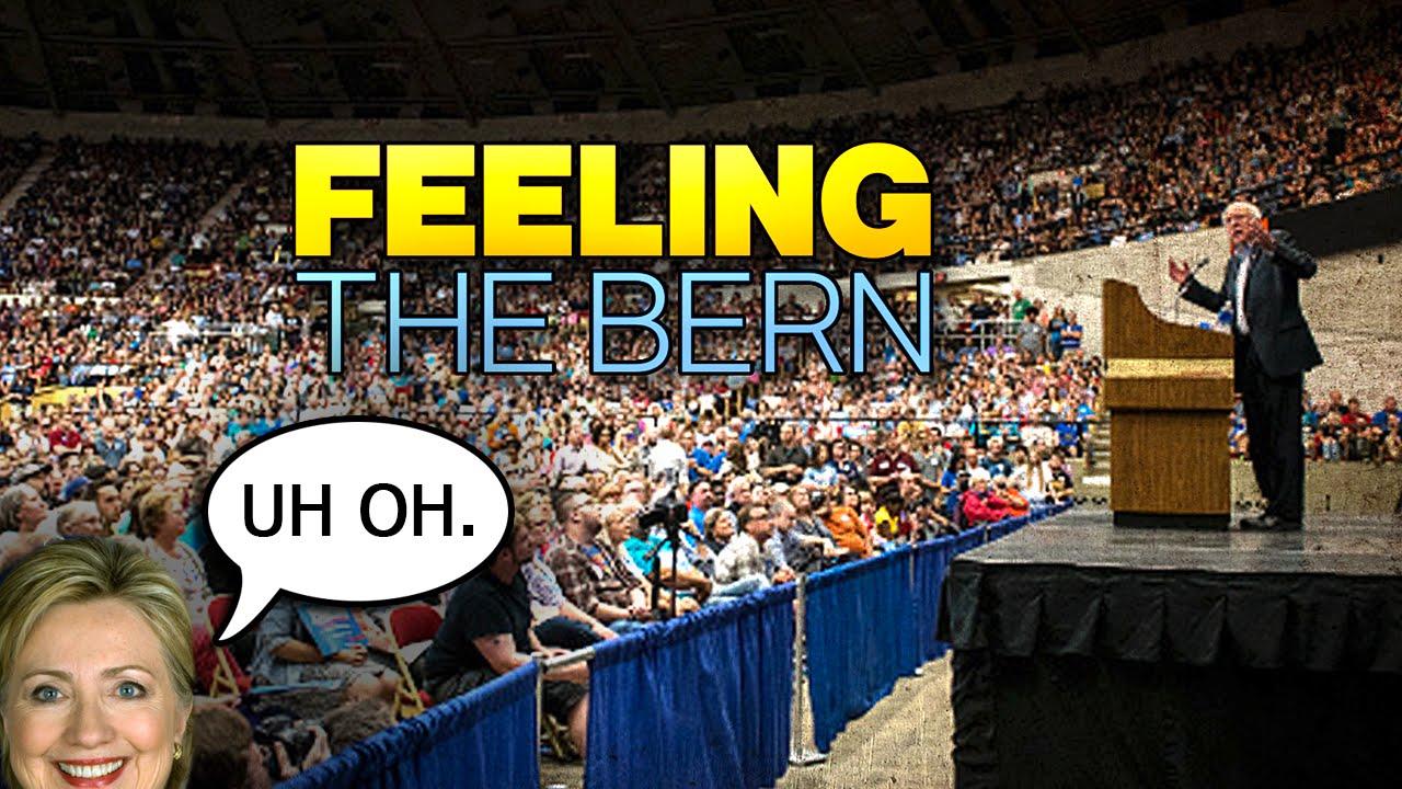 HUGE Bernie Sanders Crowd Should Terrify Hillary thumbnail