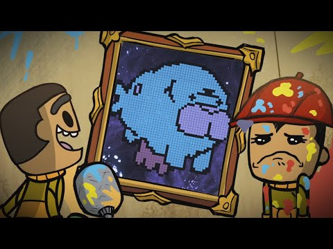Turn Pictures Into Pixel Art Murals - Oxygen Not Included
