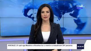RTK3 Lajmet e orës 09:00 27.03.2020