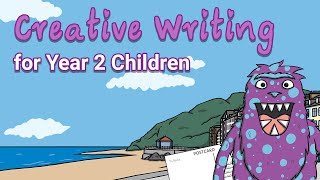 Writing Prompts - Chomper's Postcard / Creative Writing for Year 2