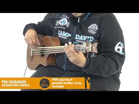 ORTEGA GUITARS | SHAMAN - SIGNATURE SERIES (Acoustic Bass Guitar)