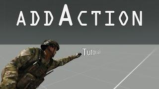Arma 3 Editor Tutorial - AddAction, RemoveAction