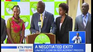 Embattled IEBC chair Wafula Chebukati, the two remaining commissioners failed to appear before JLAC