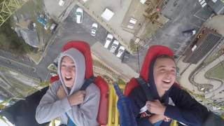 Boy Passes Out on Ejection Seat Ride Branson MO